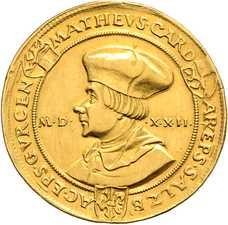 Achtfacher Dukat 1522, © Bankhaus Spängler, D. Sonnenwald
