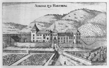 Schloss Hartberg, Fischer-Topographia Ducatus Stiria
