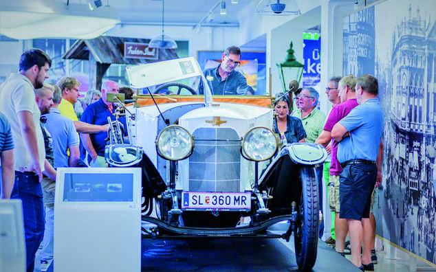 Die Ferdinand Porsche Erlebniswelten fahr(T)raum