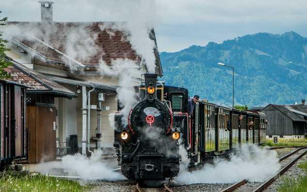 Wälderbähnle – Remise Bahnhof Bezau