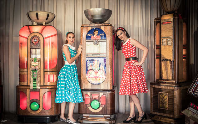 Terra Technica – Jukebox und Pinball Time Travel Museum