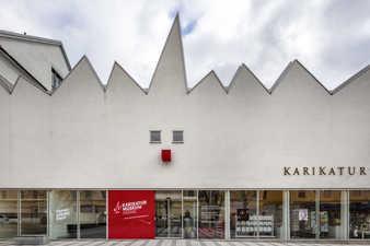 Karikaturmuseum Krems, Außenansicht 2019 © Foto: Faruk Pinjo